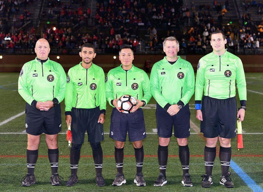 2017 IAAM  Conference A Finals Referee Crew